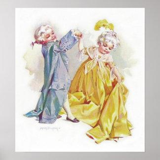 Maud Humphrey's Dancing Children Print
