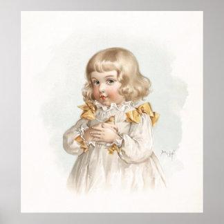 Maud Humphrey's Spring Girl Poster