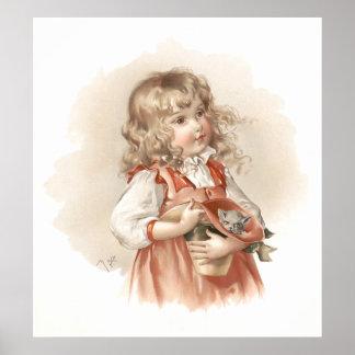 Maud Humphrey's Summer Girl Poster