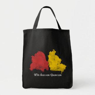 Mauerfall - Wir hassen Grenzen Grocery Tote Bag