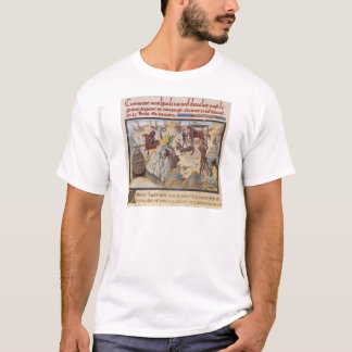 Maugis Fighting the Serpent T-Shirt