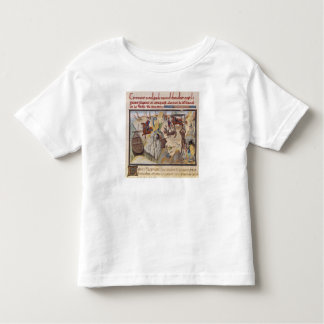 Maugis Fighting the Serpent Toddler T-Shirt