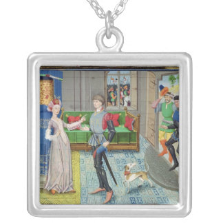Maugis of Aigremont and Isanne Silver Plated Necklace