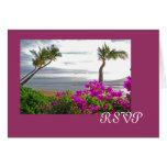 Maui Beach RSVP Card