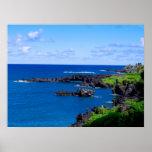 Maui Coastline - Hawaii Ocean Poster