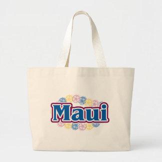 Maui flowers tote bag