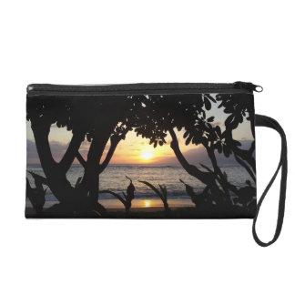 Maui Hawaii Beach Sunset Wristlet
