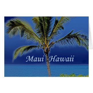 Maui Hawaii Card