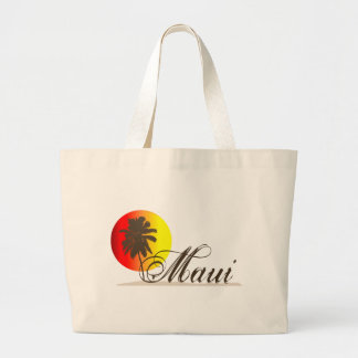 Maui Hawaii Souvenir Jumbo Tote Bag