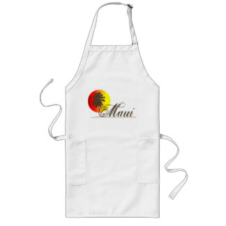 Maui Hawaii Souvenir Long Apron