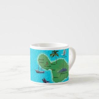 Maui Map Espresso Mug