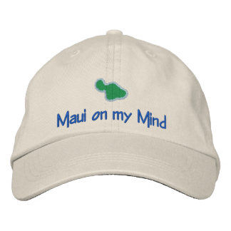 MAUI  on my mind Baseball Cap