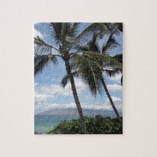 Maui Palm Trees Jigsaw Puzzle
