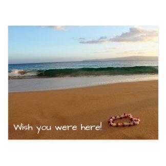 Maui Postcard Wish You Were Here!