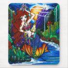 Maui Princess Mermaid Cockatoo Fairy Mouse Mat