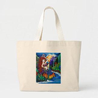 Maui Princess Mermaid Fairy Cockatoo Tote Bag