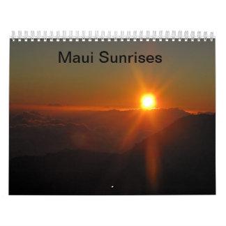 Maui Sunrises Calendars