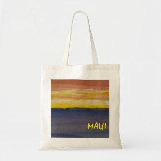 Maui Sunset Budget Tote Bag