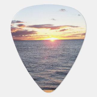 Maui Sunset Guitar Pick
