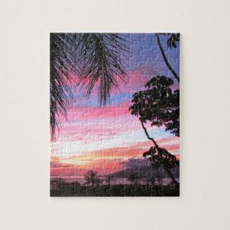 Maui sunset jigsaw puzzle