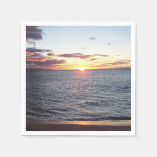 Maui Sunset Napkins Paper Napkin