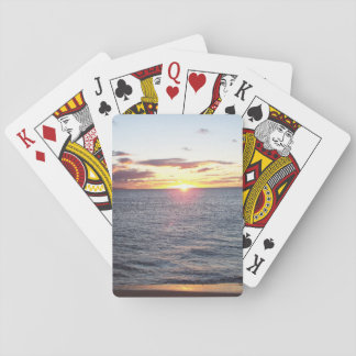 Maui Sunset Playing Cards
