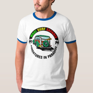 Maui Surf Safaris Woody T-Shirt