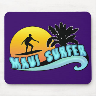 Maui Surfer Mouse Pad