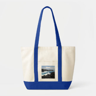 Maui Waves Crashing Tote Bag