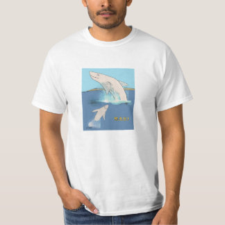 Maui Whales Cavorting T-Shirt