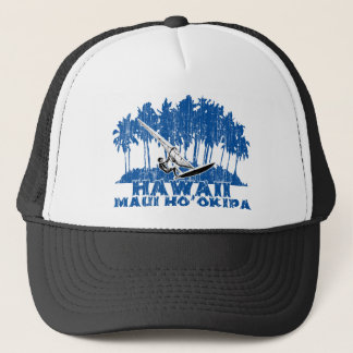 Maui windsurf trucker hat