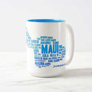 Maui Word Cloud Coffee Mug