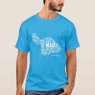 Maui Word Cloud Men's T-Shirt