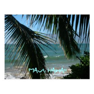 Maui's Tropical Beauty Postcard