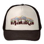 Mauka towards the mountains hawaiian hat