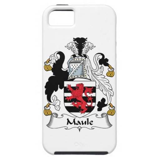 Maule Family Crest iPhone 5/5S Cover