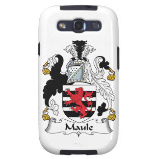 Maule Family Crest Galaxy S3 Case