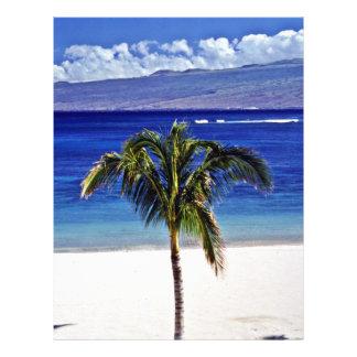 Mauna Lani Point Beach - Hawaii 21.5 Cm X 28 Cm Flyer