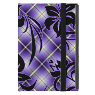 Mauna Loa Hawaiian Hibiscus Plaid iPad Mini Case