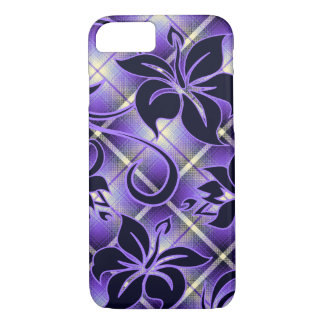 Mauna Loa Hawaiian Hibiscus Plaid iPhone 8/7 Case