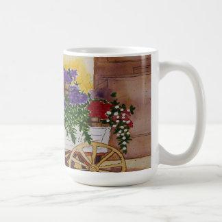 Maura Ganley Flower Cart Mug