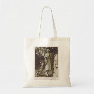 Maureen O'Sullivan 1932 vintage portrait golf Budget Tote Bag