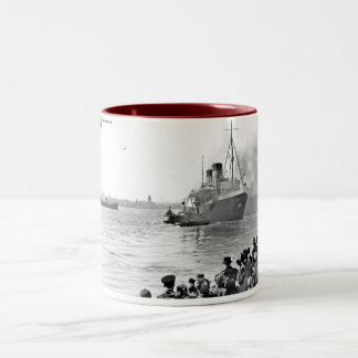 Mauretania 2 Two-Tone coffee mug