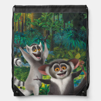 Maurice and Julien Drawstring Bag