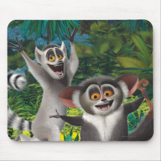Maurice and Julien Mouse Mat