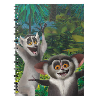 Maurice and Julien Notebook
