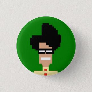 Maurice Moss 3 Cm Round Badge