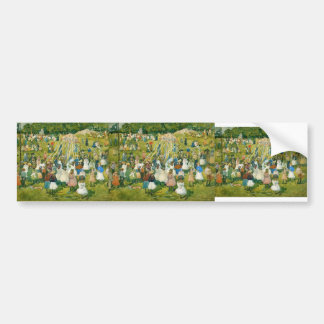 Maurice Prendergast- May Day Central Park Bumper Stickers
