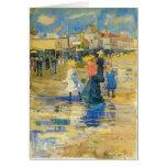 Maurice Prendergast- Revere Beach Greeting Cards
