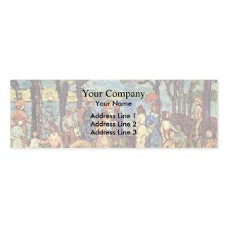 Maurice Prendergast- Summer, New England Pack Of Skinny Business Cards
